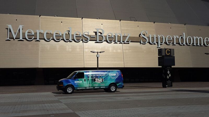 TAW at the mercedes benz superdome