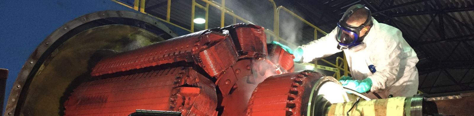 Large Utility/Turbine Generator Repair